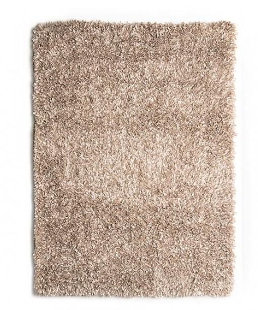 "RG4102 Annmarie 3"" thick beige mix shag area rug 5' x 7'"
