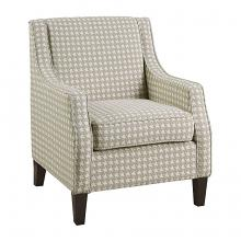 Homelegance 1110KH-1 Fischer classic style khaki fabric patterned look accent chair