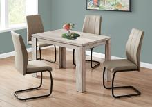 """DINING TABLE - 32""""X 48"""" / TAUPE RECLAIMED WOOD-LOOK"""