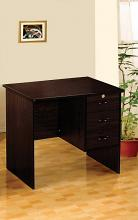 Acme 12110 Espresso finish wood office work desk with drawers