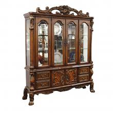 Acme 12155 Astoria grand kyree dresden cherry oak finish wood curio china cabinet hutch and buffet