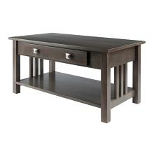 16040 Stafford Coffee Table, Oyster Gray