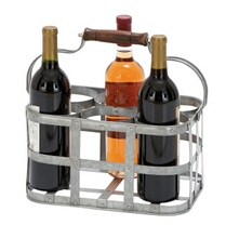 Vino Metal Wine Holder 13inW, 7inH