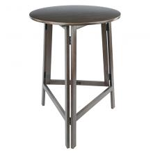 16340 Torrence High Round Table, Oyster Gray