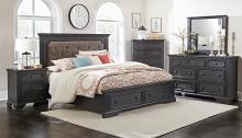 Homelegance 1647-4PC 4 pc Darby home co bolingbrook charcoal finish wood bedroom set with drawers