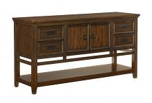 Homelegance 5496-40 Darby home co Makah dark brown finish wood side server buffet console
