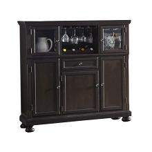 Homelegance 1718GY-40 Begonia gray finish wood curio cabinet side server buffet console