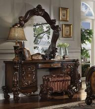 Acme 21107-08-04 3 pc Astoria grand welton versailles cherry oak finish wood bedroom make up vanity