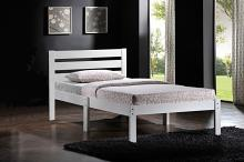 Acme 21528T-W Donato white finish wood slatted headboard twin bed