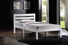 Acme 21528T-W Donato white finish wood slatted headboard twin bed
