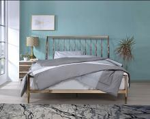 Acme 22690Q Marianne copper finish metal queen bed frame set