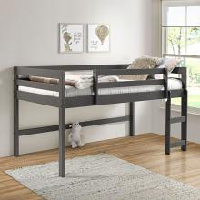 Acme 38255 Harriet bee rohan gray finish wood playhouse style twin loft bed
