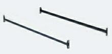 Set of 2 bed rails Twin / Full bolt on bed rails