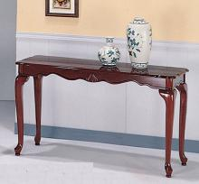 441A-SF Cheshire II cherry finish wood sofa console entry table