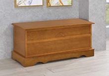 4695 Astoria grand garrard honey finish wood cedar hope chest storage bench