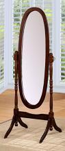 Asia Direct 527-ESP Espresso finish wood full length free standing cheval floor mirror