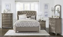 Homelegance 5442-4PC 4 pc Astoria grand vermillion gray cashmere finish wood queen bedroom set
