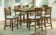 Homelegance 5716RFAK-36-S1-7PC 7 pc Darby home co Balin light oak finish wood counter height dining table set