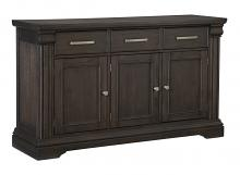Homelegance 5471-40 Darby home co southlake wire brushed rustic brown finish wood curio cabinet side server buffet console