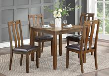 Homelegance 5746-5PC 5 pc Darby home co weston brown finish wood dining table set