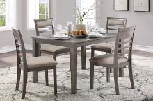 Homelegance 5806-5P 5 pc Darby home co Lovell gray finish wood dining table set