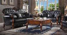 Acme 58230-31 Rosdorf park grand dresden cherry oak finish wood carved accents sofa and love seat set