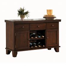 Homelegance 586-40 Ameillia dark oak finish wood side board server buffet cabinet