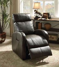 Acme 59405 Ricardo grey faux leather electric lift recliner chair