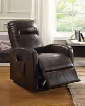 Acme 59458 Kasia espresso faux leather electric lift recliner chair