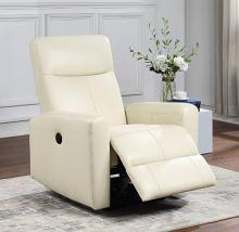 Acme 59772 Blane beige top grain leather power motion recliner chair modern style