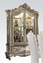 Acme 61153 Astoria grand welton versailles bone white wash finish curio cabinet