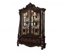Acme 61158 Astoria grand welton versailles cherry oak finish wood curio cabinet