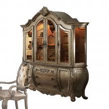 Acme 61294 Astoria grand roudebush ragenardus vintage oak finish wood curio china cabinet hutch and buffet