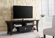 700497 Latitude run latorre espresso finish wood modern tv stand console