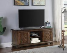 708132 Darby home co galey golden brown finish wood TV stand console