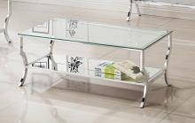 720338 WIlla arlo interiors anndale chrome finish metal and glass coffee table