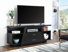 721110 Latitude run alanis espresso finish wood modern tv stand console