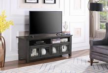 "722222 Canora grey armenta dark grey finish wood 60"" tv stand console"