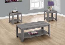TABLE SET - 3PCS SET / GREY
