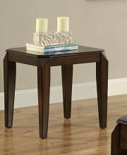 Acme 80662 Darby home co palou docila walnut finish wood chair side end table