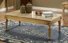 Acme 81715 Astoria grand jaylan daesha antique gold finish wood marble top coffee table