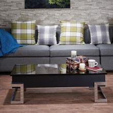 Acme 81855 Calnan black high gloss finish wood lift top coffee table