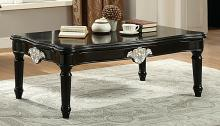 Acme 82110 Ernestine black finish wood coffee table