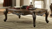 Acme 82115 Astoria grand simpson latisha antique oak finish wood coffee table