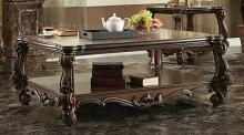 Acme 82120 Astoria grand ciaran versailles ii cherry oak finish wood carved accents coffee table