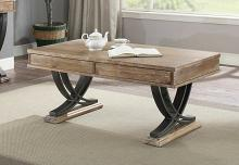 Acme 83055 Millwood pines lolotoe pellio antique oak finish wood coffee table