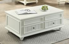 Acme 83325 Rosecliff heights lomas natesa white washed finish wood lift top coffee table with storage