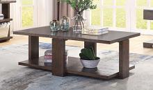 Acme 84850 Wrought studio marple niamey cherry finish wood modern style coffee table