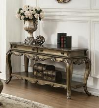 Acme 86033 Astoria grand welling ragenardus vintage oak finish wood sofa entry console table