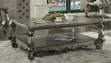 Acme 86820 Astoria grand timothy versailles antique platinum finish wood coffee table